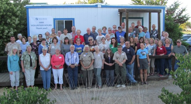 Yolo Basin Foundation Volunteers